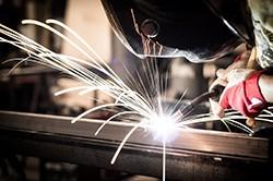 Mig Welding Extruded Steel